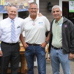 With Ferndale Mayor Jensen, and Lynden Mayor Korthius
