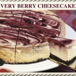 """Very Berry"" Chuckanut Bay Cheesecake"